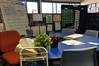 The Treasure Cave small group learning space
